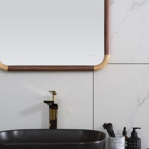 72 Inch American Style Solid Wood Bathroom Vanity
